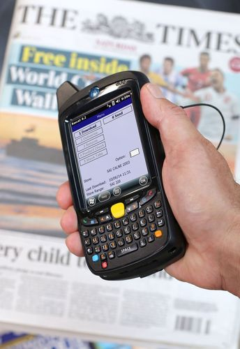 Peak-Ryzex rascal handheld. (PRNewsFoto/Peak-Ryzex)