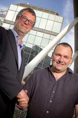 Paul Atkinson, Partner, Par Equity (left) and Chris Wright, CEO, GamesAnalytics (right)