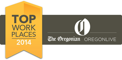 Brandefined is Named to The Oregonian's Top Workplaces in the northwest. (PRNewsFoto/Brandefined)