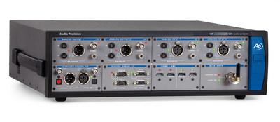 Audio Precision Sets New Performance Standard With APx555 Audio Analyzer