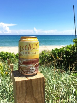 Saltwater Brewery, a Florida-based microbrewery known for the Edible Six Pack Rings, announced the market launch of their third canned beer. A crisp, refreshing, golden ale with 3.7 percent alc/vol, LocAle is the ideal all-day drinking beer to enjoy at your favorite local event or activity. Cans have been available in the Tasting Room since the beginning of September, and are now available throughout Saltwater's Florida-only distribution territory. The brewery's canned beer offerings now include Screamin' Reels IPA, Sea Cow Milk Stout, and LocAle Golden Ale.