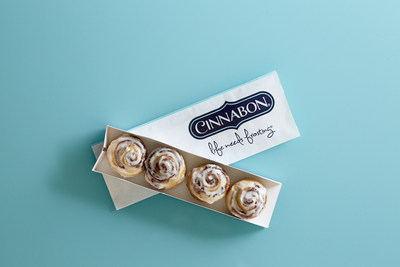 Cinnabon(R) nationally launches BonBites(TM), the bakery's smallest cinnamon roll to date.