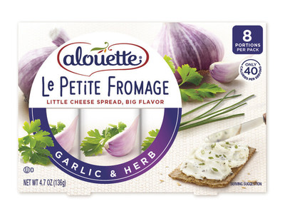 Real ingredients are no laughing matter! Alouette's NEW Le Petite Fromage ($3.99 at grocery stores nationwide), a unique, perfectly-portioned smart snacking spread, makes it easier than ever to eat real. Completely free of artificial ingredients - no additives, preservatives, artificial flavors, or colors - Le Petite Fromage blends indulgent cheese and a touch of yogurt with vegetables picked at peak season and bold spices for a little cheese with big flavor. Individually-packaged with...