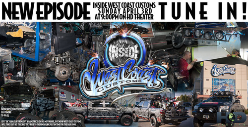 Renowned TV Show Builders West Coast Customs Team Up With General Tire and Jeff 'OX' Kargola to