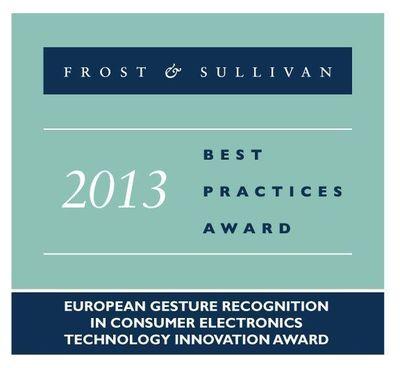 Frost & Sullivan 2013 Best Practices Award (PRNewsFoto/PointGrab Ltd)
