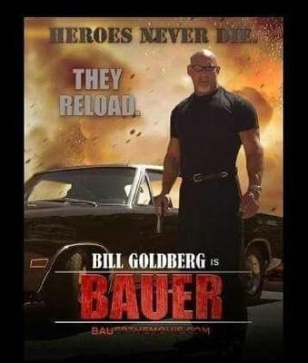 Bill Goldberg to Co-Executive Produce BAUER