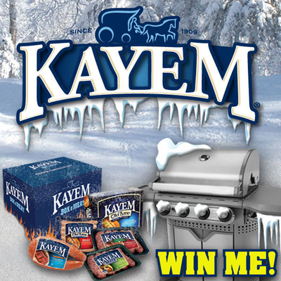 Kayem Looks To Reward Brave Winter Grillers With Grill In The Chill Contest. (PRNewsFoto/Kayem Foods)
