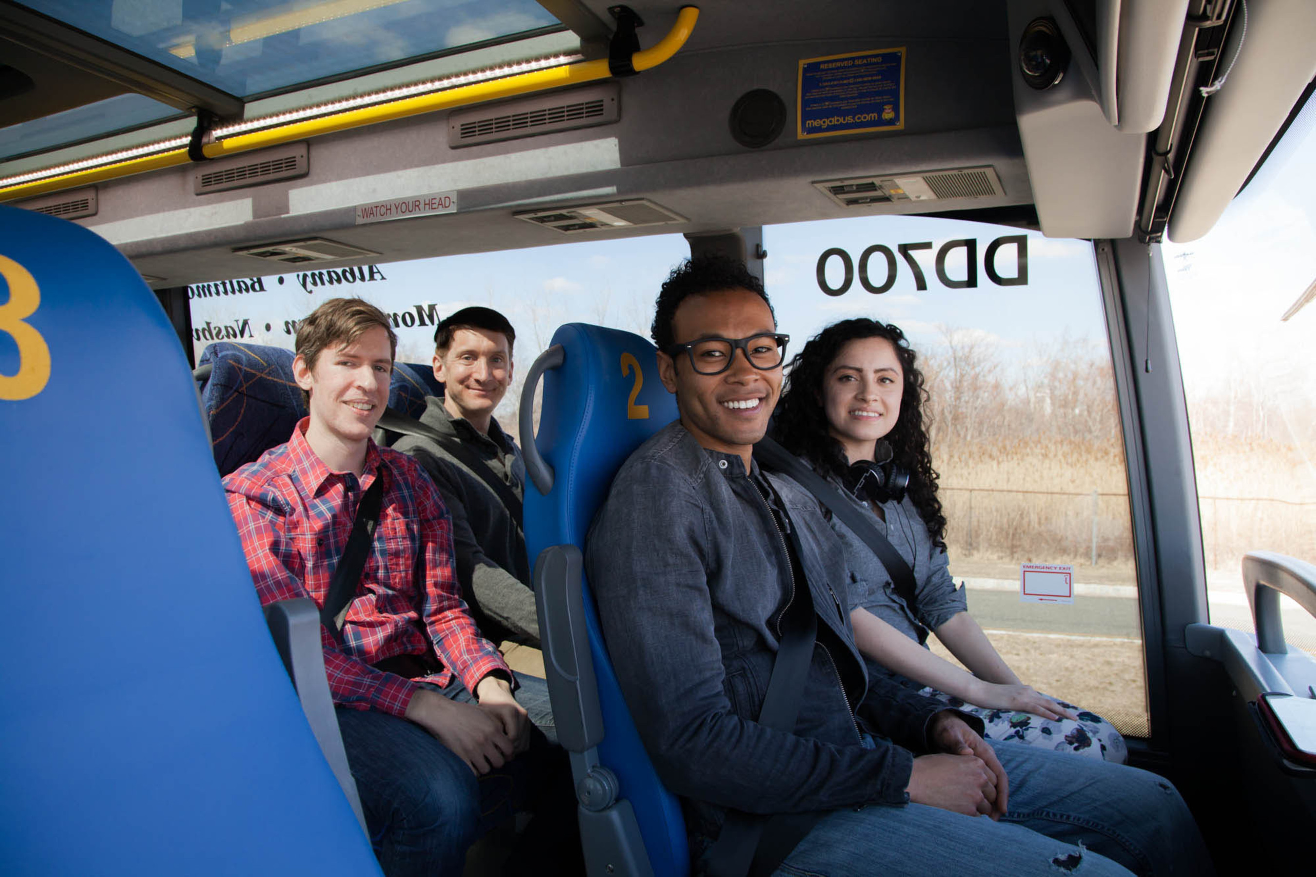 Megabus.com expands popular Reserved Seating program to 20 seats for travel September 8 and beyond
