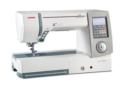 Janome Memory Craft 8900.  (PRNewsFoto/National Quilt Museum)