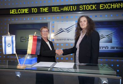 TASE and Eurex Sign Derivatives Trading Cooperation Agreement