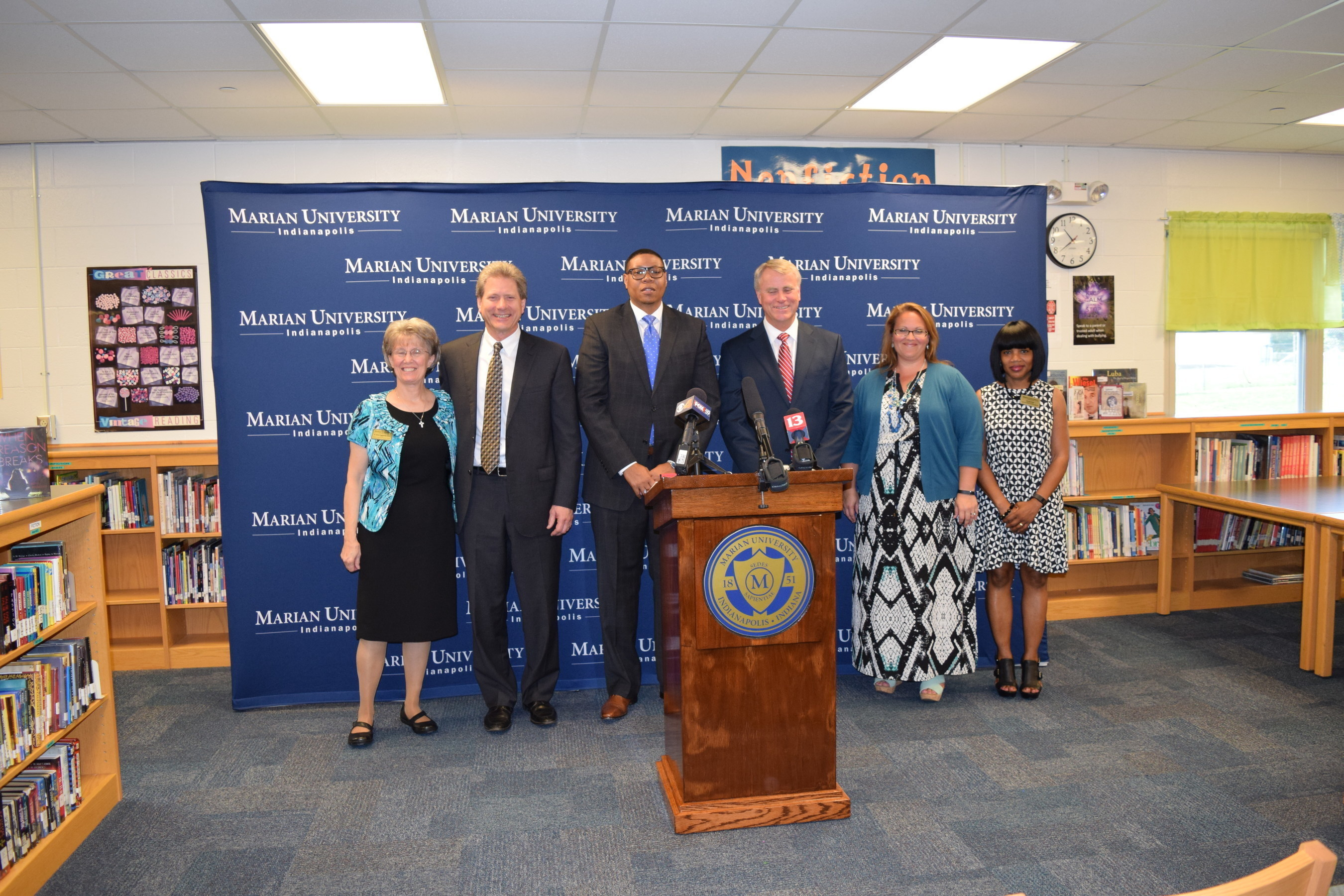 IPS partners with Marian University to train future principals