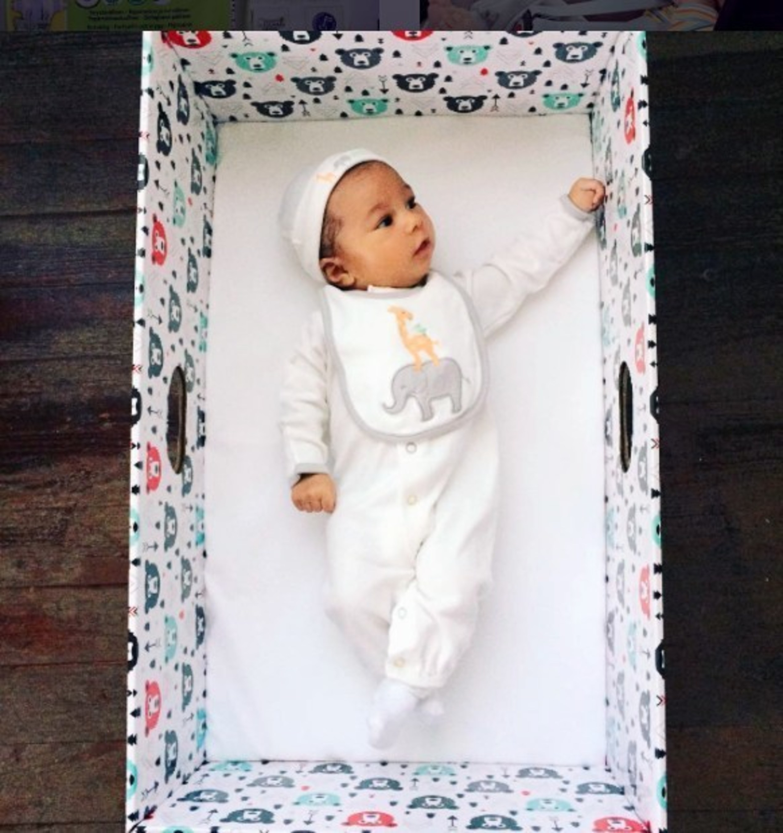 ontario province is launching a baby box program to provide safe