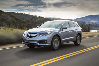 Acura's RDX set a new September sales record, joining the new MDX in pushing the brand to its best-ever September truck sales.