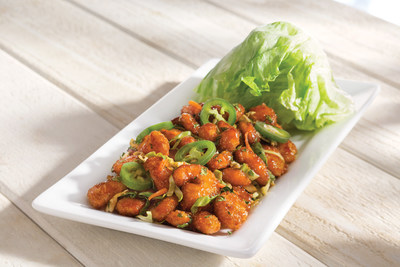 Red Lobster's offering free select appetizers for Veteran's Day, including the NEW! Crispy Shrimp Lettuce Wraps with crispy shrimp tossed in soy-ginger sauce topped with jalapenos and served with fresh lettuce cups