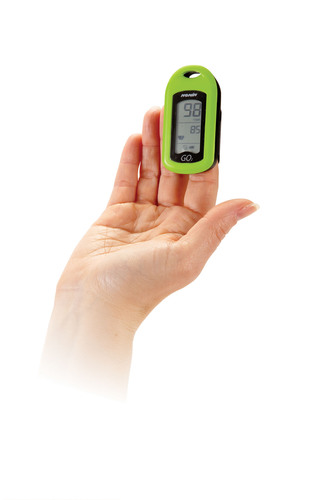 Nonin Medical's GO2 and GO2 LED personal pulse oximeters are designed to help COPD and asthma patients manage their diseases and are available with a prescription.  (PRNewsFoto/Nonin Medical, Inc.)