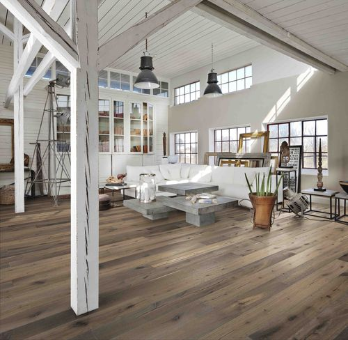 A celebration of Kährs' Swedish tradition and fine craftsmanship, the Founders Collection of wood floors includes eight new oak designs and joins Kährs Original Range. Each floor is named after a member of the Kährs' family, that founded the company in 1857, and features a stunning combination of hand-crafted finishing treatments. (PRNewsFoto/Kahrs (UK) Ltd)