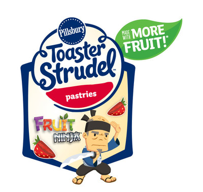 "Toaster Strudel Teams Up with Fruit Ninja to Celebrate ""More Fruit"""