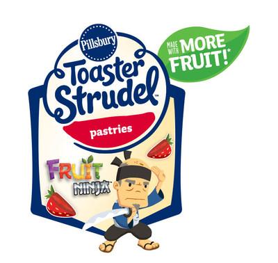 "Toaster Strudel Teams Up with Fruit Ninja to Celebrate ""More Fruit"" (PRNewsFoto/Pillsbury Toaster Strudel)"