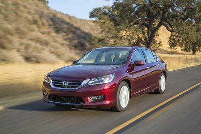 The 2014 Honda Accord has an EPA estimated 36 MPG highway fuel economy rating.  (PRNewsFoto/Benson Honda)