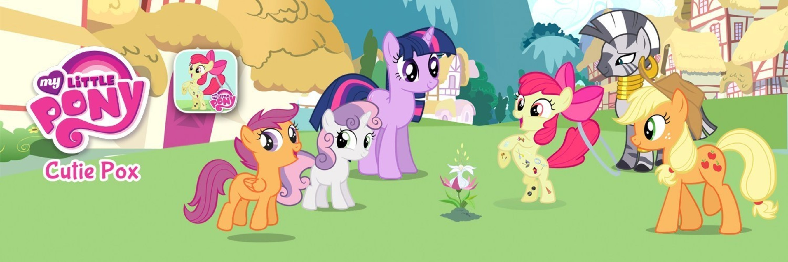 PlayDate Digital's MY LITTLE PONY: CUTIE POX Storybook App for iPhone, iPad and iPod touch,