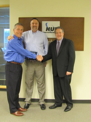 Left to Right: Duncan Kirk, SVP, HUB International Northwest; Richard Malowney, Chief Marketing Officer, HUB International Northwest; Bryan Stanwood, Regional Field Executive - Northwest Region, Capital Insurance Group