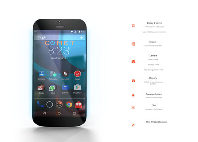 Encrypt Android Phone >> Comet Core Launches World's First Buoyant Smartphone on Indiegogo