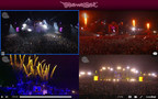Through nowlive technology, Tomorrowland Live gives the ability to watch multiple stages - MAIN, ESSENCE, RADIO, REPLAY -  simultaneously, easily switching for a customized viewing experience.