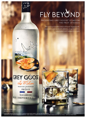GREY GOOSE Le Melon Advertising Creative (PRNewsFoto/GREY GOOSE(R) Vodka)