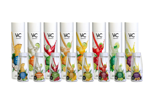 VnC Cocktails  - All natural, low calorie ready-to-serve cocktails from New Zealand.  (PRNewsFoto/Sidney Frank ...