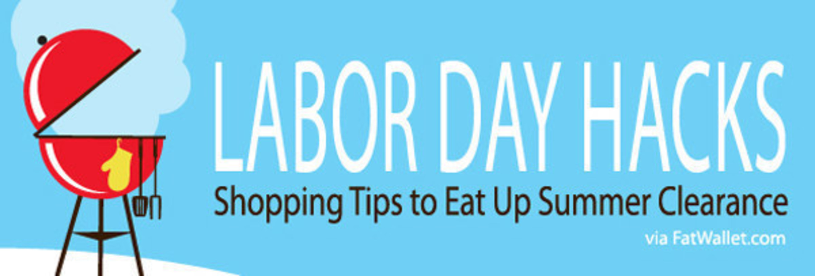Labor Day deals kick-off summer clearance as stores prep for holiday