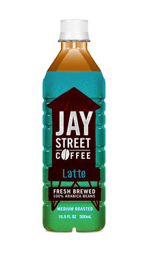 Jay Street Coffee, a new Brooklyn inspired ready-to-drink coffee launches in New York by ITO EN-Fresh brewed 100% Arabica Beans.  (PRNewsFoto/ITO EN)