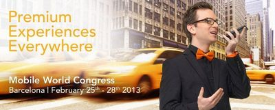 NXP Software brings premium experiences to MWC 2013. (PRNewsFoto/NXP Software)