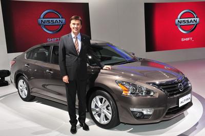 Francois Dossa is named president of Nissan Brazil, effective Jan. 1, 2013.  (PRNewsFoto/Nissan Americas)