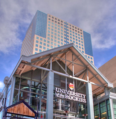 University of the Rockies' Tabor Center Location.  (PRNewsFoto/University of the Rockies)