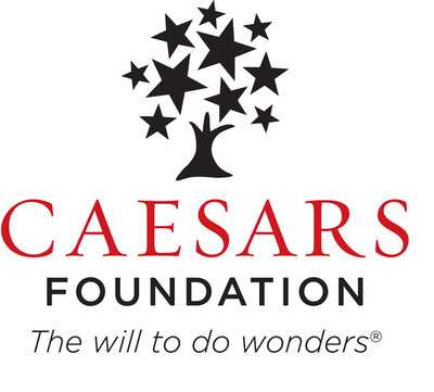 The Caesars Foundation is a private foundation funded by a percentage of operating income from Caesars Entertainment's resorts with the objective to strengthen organizations and programs in the communities where Caesars employees and their families live and work.(PRNewsFoto/Caesars Entertainment Corporation)