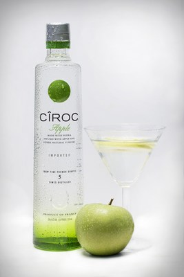 The liquid also lends itself well to a variety of twists on more traditional cocktails including the CIROC Apple.