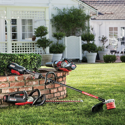 Troy-Bilt(R) powered by CORE(TM) offers homeowners a new approach to cordless outdoor power equipment that rivals the power of gas. New products include a string trimmer, leaf blower and hedge trimmer, with a push walk-behind lawn mower coming soon.