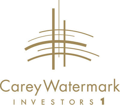 Carey Watermark Investors Logo.  (PRNewsFoto/W. P. Carey Inc.)