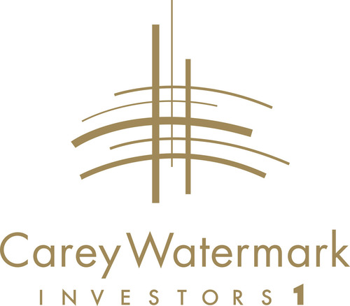 Carey Watermark Investors 1 Logo. (PRNewsFoto/W. P. Carey Inc.)