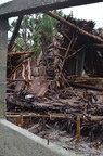 Cyclone Pam - Destruction of homes in Port Villa, Vanuatu following the impact of the typhoon.