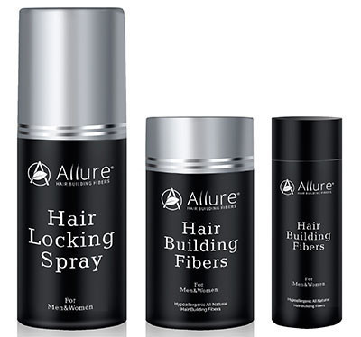 Allure HBF, All-Natural Hypoallergenic Hair Loss Solution