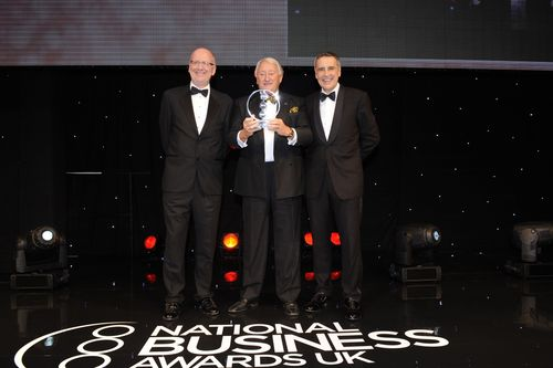 Alex Evans, Programme Director of the National Business Awards (PRNewsFoto/National Business Awards, London)
