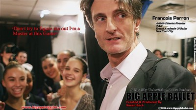 Big Apple Ballet Reality TV Docu Series (PRNewsFoto/Susan Beck Productions)