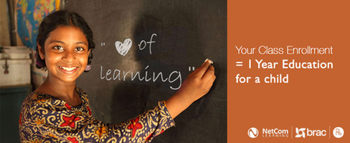 Love of Learning.  (PRNewsFoto/NetCom Learning)
