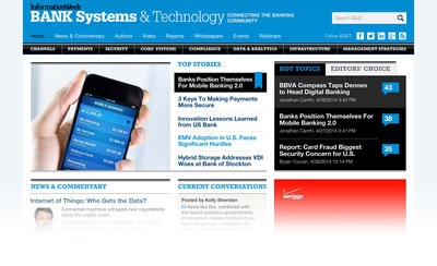 Welcome to the New Bank Systems & Technology