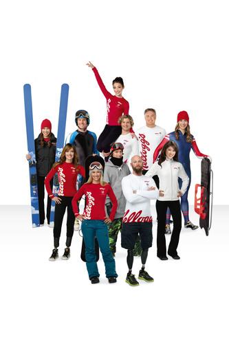 Team Kellogg's.  (PRNewsFoto/Kellogg Company)