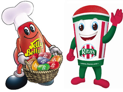 Rita's Italian Ice introduces two Jelly Belly Italian Ice Flavors! (PRNewsFoto/Rita's Italian Ice)