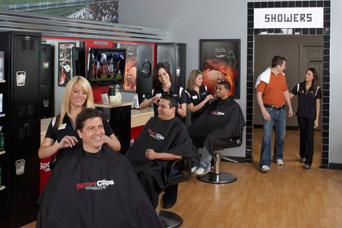 Sport Clips Haircuts Ranks as Top 50 Franchise.  (PRNewsFoto/Sport Clips Haircuts)