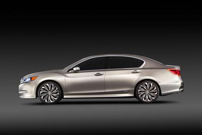 Acura RLX Concept Makes World Debut in New York.  (PRNewsFoto/Acura)