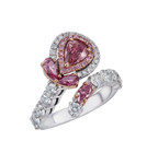Fancy Pink Diamond Ring by Glajz